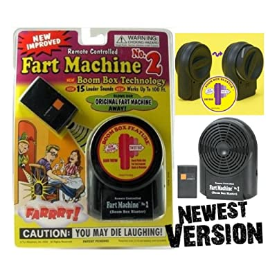 Unbranded Fart Machine No. 2 - Wireless Remote Controlled Newest Improved Model Avail Now!: Toys & Games