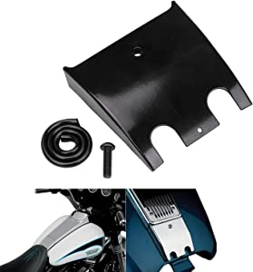 XMMT Black Lower Dash Panel Extension For Harley Touring Electra Glide Road Glide Tour Glide 1989-2007