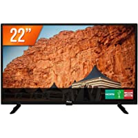 TV LED 22'' Philco PTV22G50D Full HD 2 HDMI 1 USB Preta