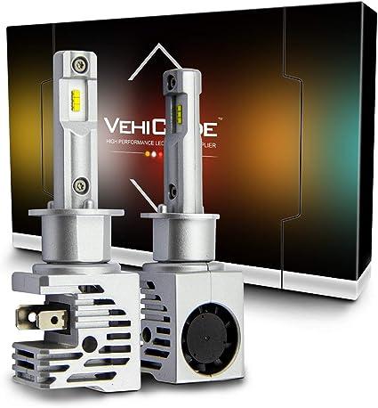 High Quality 9004 2400W White CREE LED Headlight Kit Lamps 6000K Bright White