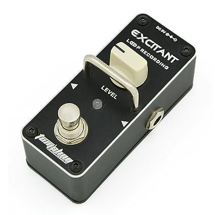 Looper fácil sencillo recto Pedal de grabación en bucle EXCITANTE Límite máximo de grabación 15 minutos