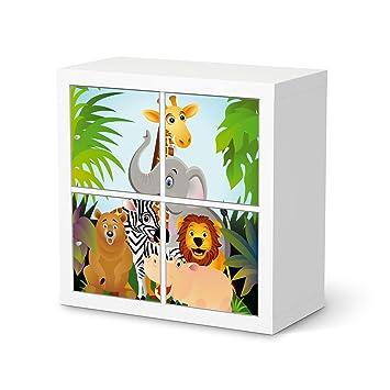 Creatisto Möbeldeko Für IKEA Kallax Regal 4 Türelemente | Design Folie  Klebetapete Folie Aufkleber Möbel