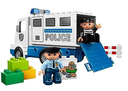Bankraub TOP & Ovp ! Räuber LEGO Duplo Polizei Transporter Set 5680