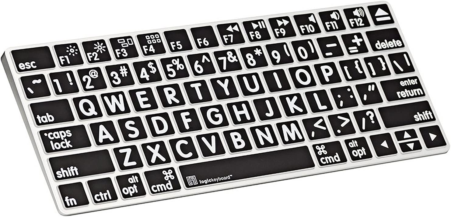 LogicKeyboard Skin Compatible with Apple XLPrint Magic Keyboard - Part Number - LK-LS-LPWB-MAGC