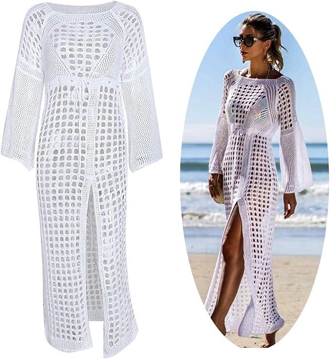 IMON LL Womens Swim Crochet Cubierta UPS, Sexy de Punto de ...