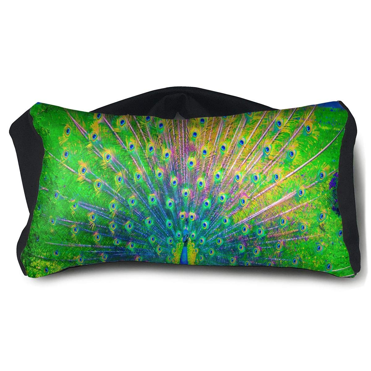 Eye Pillow Beautiful Peacock Hd Images Fabulous Eye Bag Bed Mens Portable Blindfold Sleeping Protection by HJudge