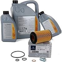 Aceite ORIGINAL Mercedes-Benz 5W30 MB 229.51 7 Liter + filtro aceite ORIGINAL 6511800109