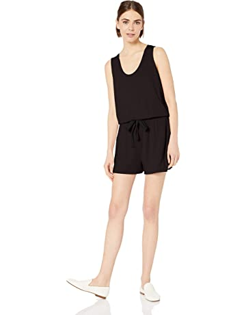 c2f2c939515 Daily Ritual Women's Supersoft Terry Sleeveless Romper