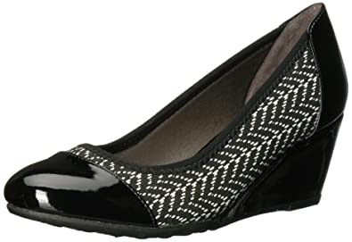 LifeStride Women's Juliana Str2 Pump Black Size 7.0