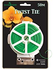 Thirsty Light Hydrofarm HGTT Twist Tie with Tool, 50 Meter