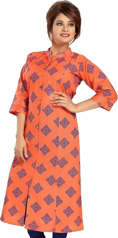 FREE SHIPPING Tops for Women Ladies Summer Tops Cotton Kurti Beautiful cotton printed kurti Indian Kurti for Women