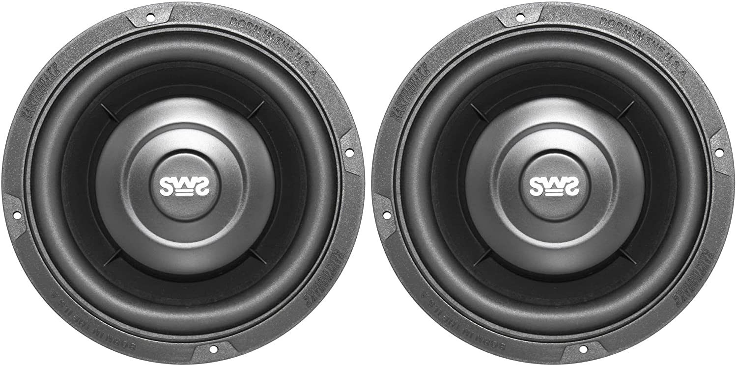 Earthquake Sound SWS-6.5X Shallow Subwoofers