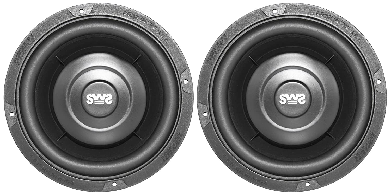 Amazon.com: Earthquake Sound SWS-6.5X 6.5-inch Shallow Woofer System ...