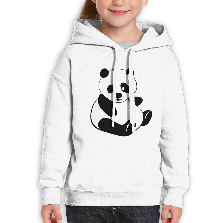 Starcleveland Teenager Pullover Hoodie Sweatshirt Cartoon Panda Teens Hooded Boys Girls