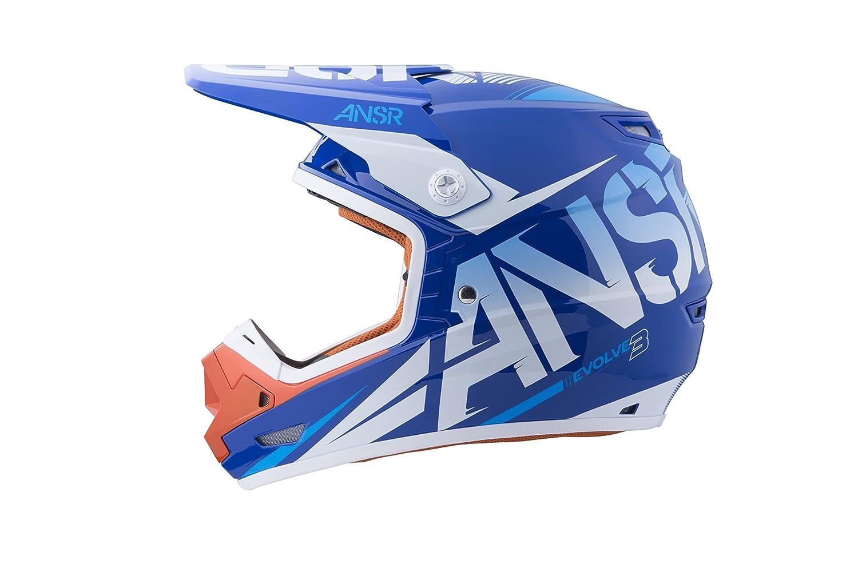 Size: Sm Primary Color: Orange 2016 Distinct Name: White//Orange Helmet Type: Offroad Helmets Answer 459908 Evolve 3 Graphics Helmet Gender: Mens//Unisex Helmet Category: Offroad