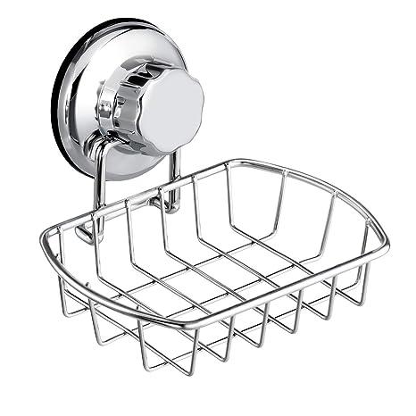 Vakuum... Seifenschale mit Saugnapf für Dusche Badezimmer oder Waschbecken