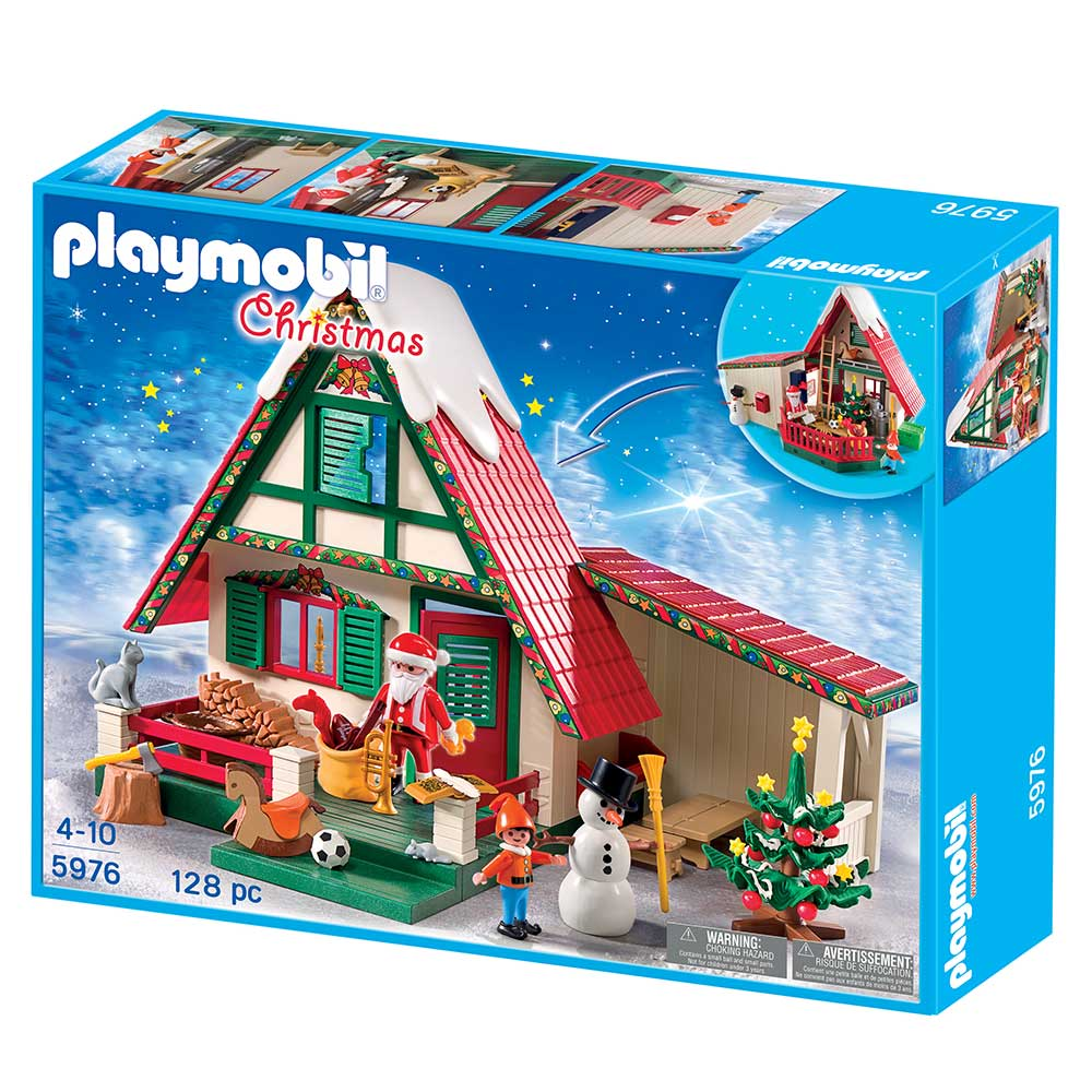 Playmobil santa 39 s home toys games for Amazon casa