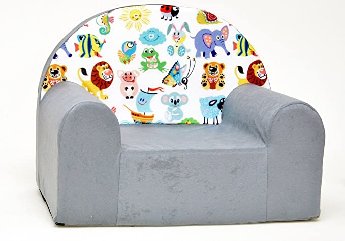 Kids Comfy Soft Foam Chair Toddlers Armchair Seat Futon Nursery Baby Sofa Truck