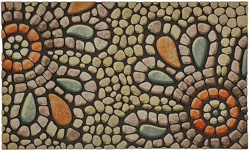 Mohawk Home 4655 17368 018030 EC Bohemian Pebble Light Doormat, Multi