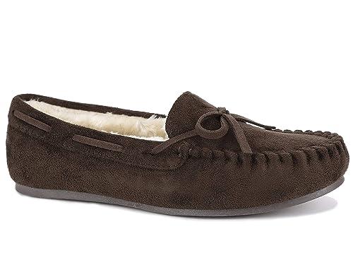 Maxmuxun Mujer Mocasines Loafers Calentar Forrado con Suela Antideslizante: Amazon.es: Zapatos y complementos