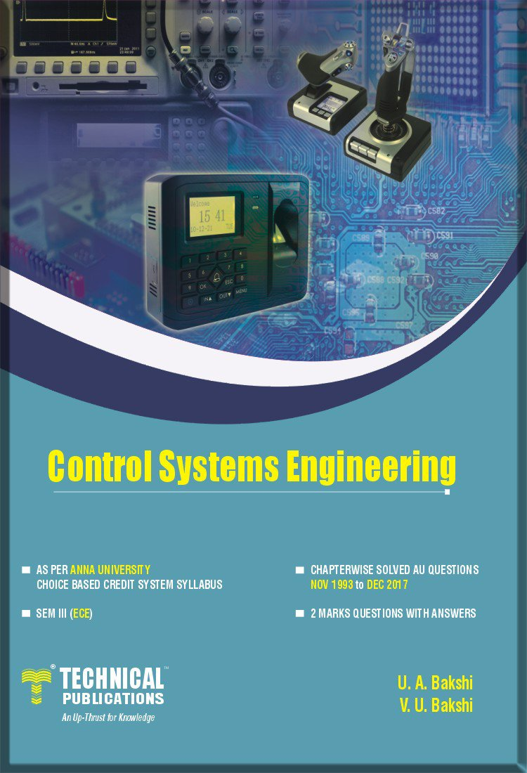 Buy Control Systems Engineering for (AU SEM-III ECE COURSE