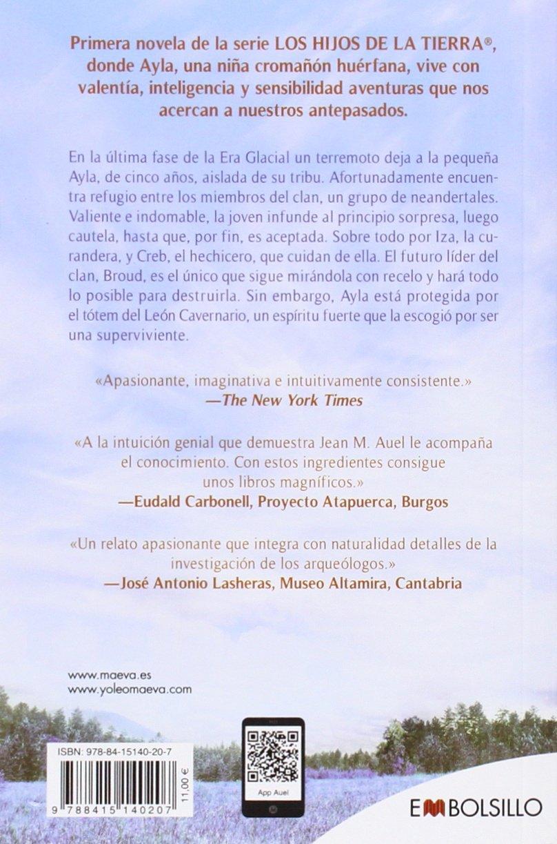 El clan del oso cavernario: hijos de la tierra nº 1 EMBOLSILLO: Amazon.es:  Jean M. Auel, Leonor Tejada Conde - Pelayo: Libros