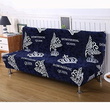 Amazon.com: DW&HX Stretch Full Cover Sofa Cover, Armless ...