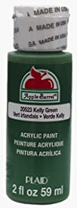 Apple Barrel Acrylic Paint in Assorted Colors (2 oz), 20523, Kelly Green