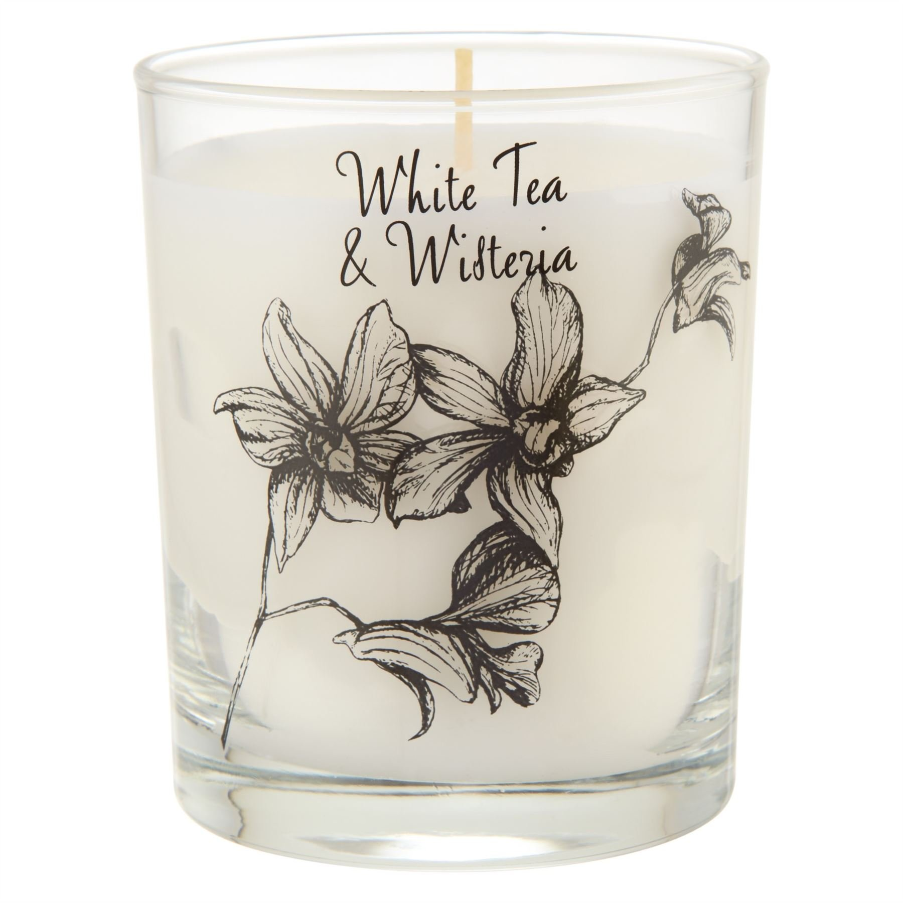 Stoneglow Scented Candle in a Jar White Tea & Wisteria - Pack of 6