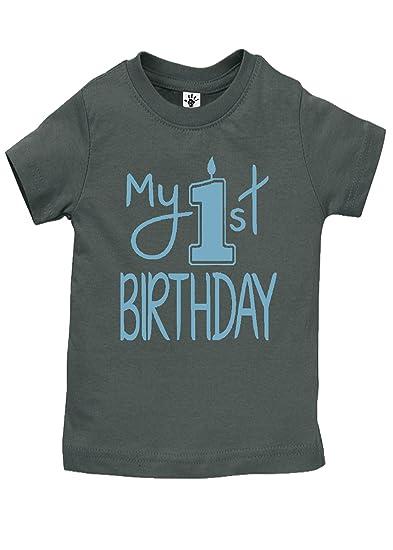 Amazon Aidens Corner Baby Boy My First Birthday Shirts Handmade Clothes