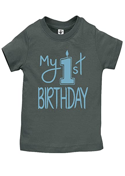 Amazon Aidens Corner Baby Boy My First Birthday Shirts Handmade Clothes