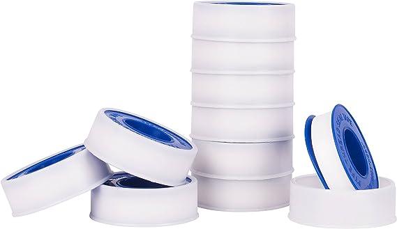 Premium blanco tubo de agua sellador fontaneros hilo cinta de ...