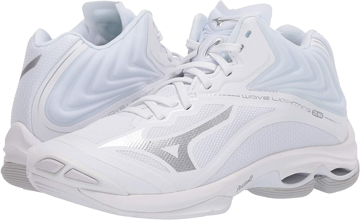 Mizuno Womens Wave Lightning Z6 Mid Volleyball Shoe