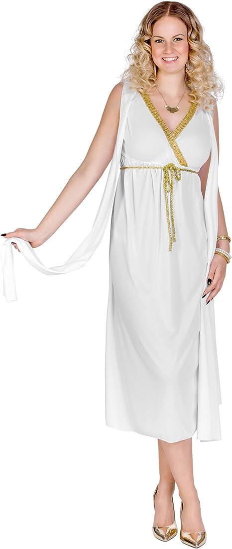 TecTake dressforfun Disfraz para Mujer Griega Reina Diosa ...