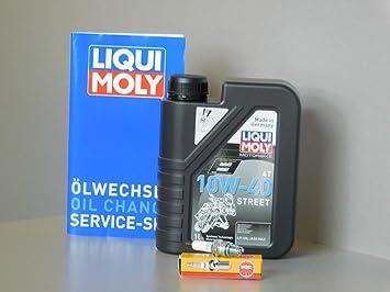 Kit de mantenimiento Kymco Like 125 Aceite Bujía Inspección ...