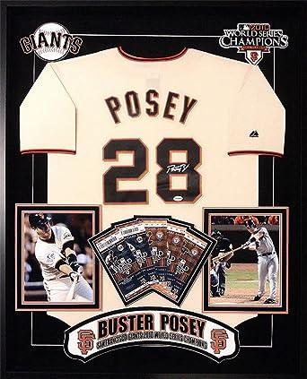 size 40 b1415 0f108 Amazon.com: Buster Posey San Francisco Giants Signed MLB ...