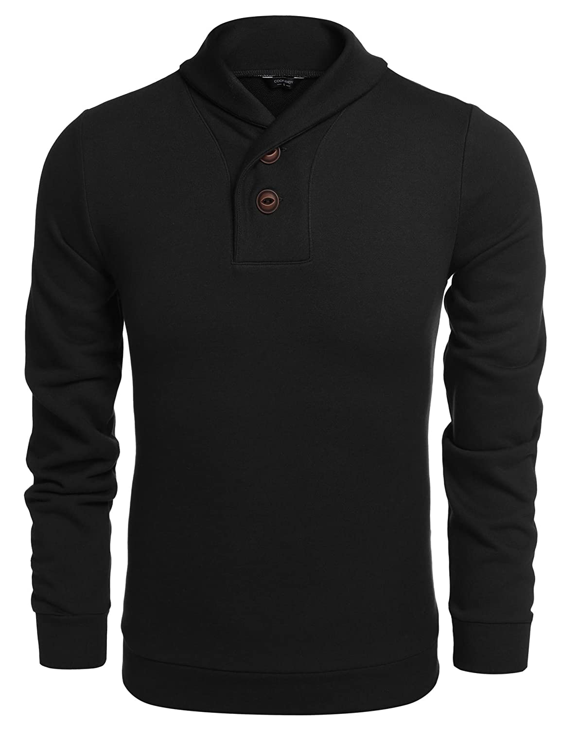 COOFANDY Men's Fashion Knitted Sweater Casual Long Sleeve Pullover AQ-01