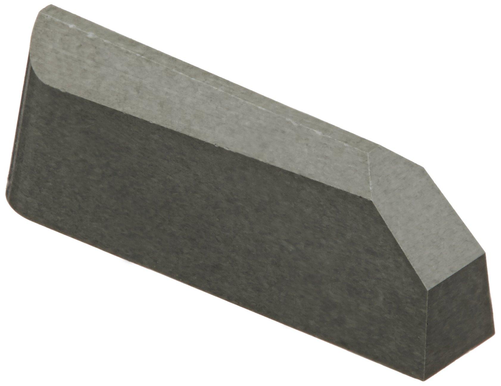 Sandvik Coromant T-Max Ceramic Profiling Insert, CC670 Grade, Uncoated, 1 Cutting Edge, CSG-6250-A, 0.125'' Corner Radius, 3 Insert Seat Size (Pack of 10)
