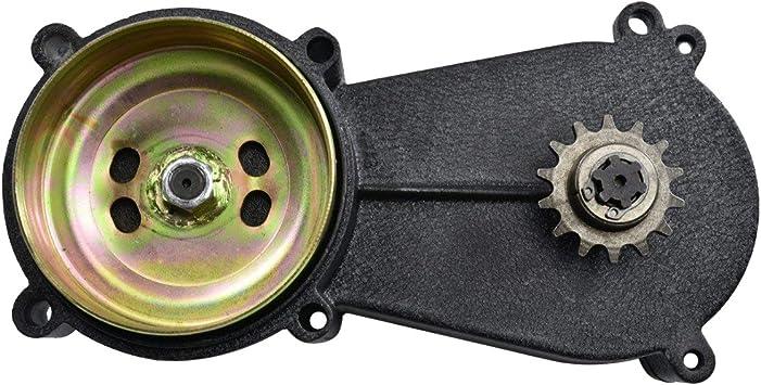 TDPRO 11T T8F Transmission Reduction Gear Box and Clutch Pad /& 8F 54T Rear Chain Sprocket /& T8F Chain for 47cc 49cc Mini Pocket Dirt Bike ATV