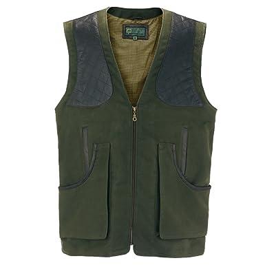 df480b57e4c57 002M : Men's Green Moleskin Shooting Vest: Amazon.co.uk: Clothing
