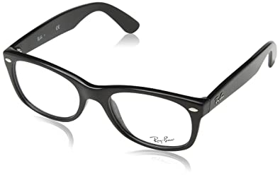 ray ban wayfarer eyeglasses  ray ban rx5184 eyeglasses (50 mm, shiny black)