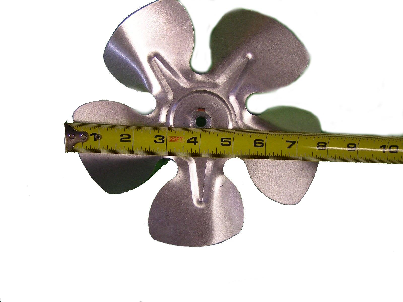 154032 Fan 8'' dia 5 Blade for Heaters Toro Champion Lawn Boy Gilson 97-100K BTU108994 223427 34280 602914