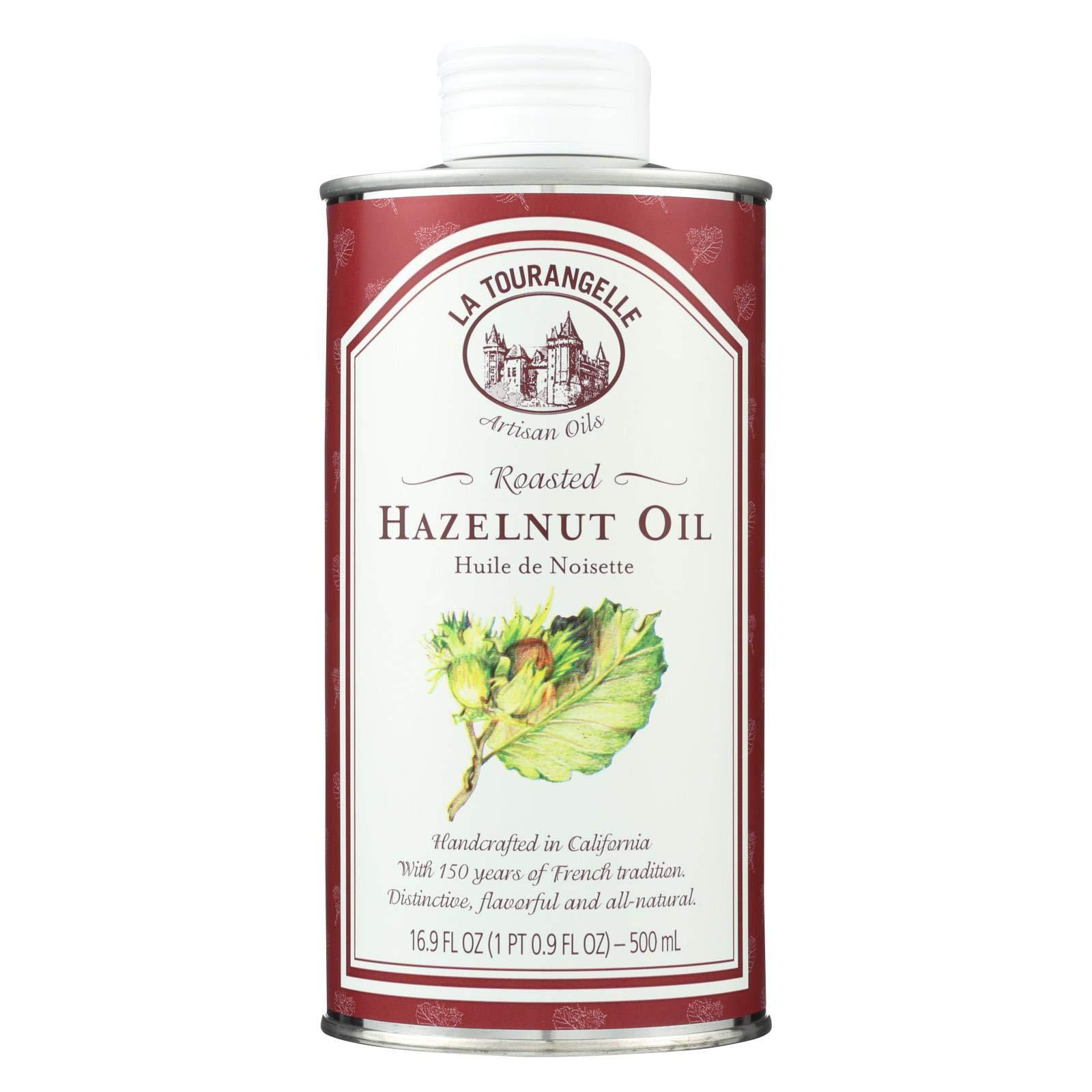 LA TOURANGELLE Roasted Hazelnut Oil, 500 ML by La Tourangelle