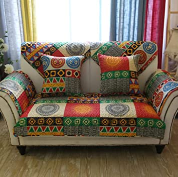 Outstanding Amazon Com Bw0057 Bohemian Look Sofa Slipcover Couch Cover Gamerscity Chair Design For Home Gamerscityorg