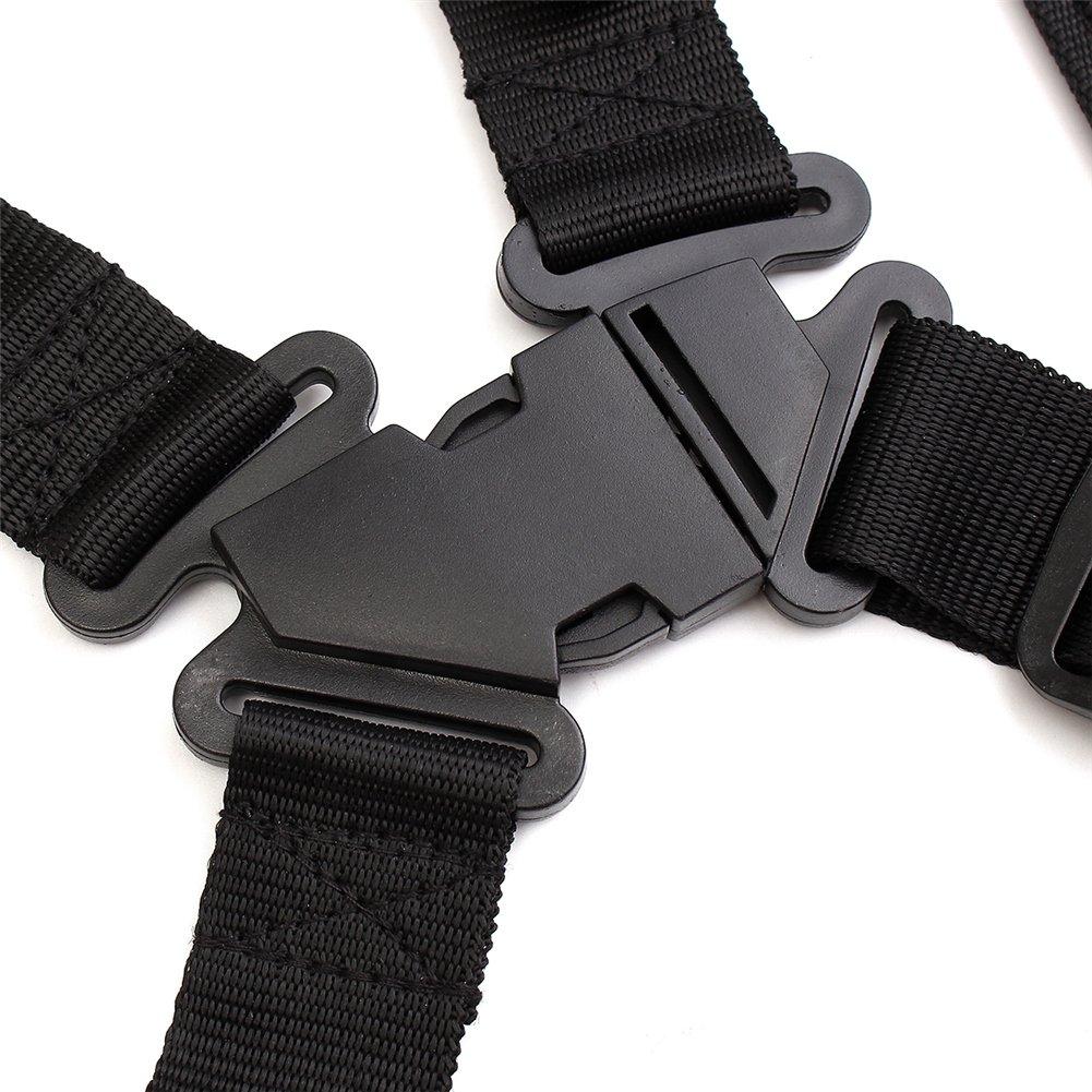 Grass Trimmer Double Shoulder Harness Strap Adjustable Black Nylon Harness Belt For Brush Cutter by Fovolat (Image #7)