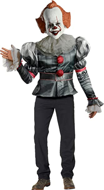 Rubies Disfraz de lujo de Pennywise para hombre de la película IT ...