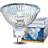 Long Life Gu5.3 50 Watt Halogen Mr16 12 V Halogen Bulbs Lamp With Aluminium Reflector Running Cool (Pack of 10)