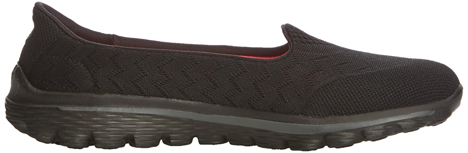 Skechers Performance Women's Go Walk 2-Axis Fashion Sneaker B00B9A49QQ 7 M US|Black