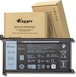 BOWEIRUI 51KD7 (11.4V 42Wh 3510mAh) Laptop Battery Replacement for Dell Chromebook 11 3180 3189 Series 0Y07HK Y07HK