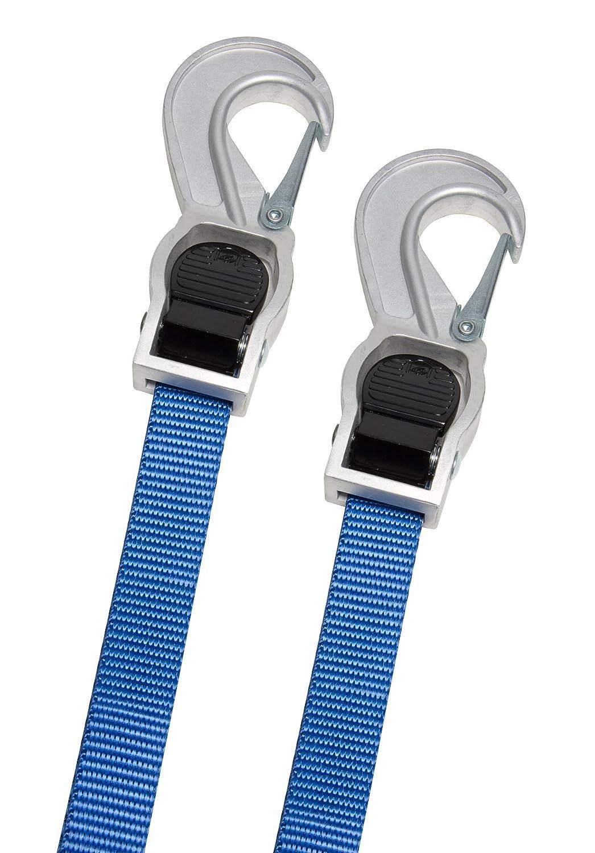 2 Piece Blue 10 Easy Grip Cambuckle Tie Down 1158600 Highland